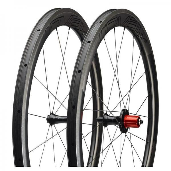 Wheel Specialized CLX 50Pair Satin Carbon/Gloss